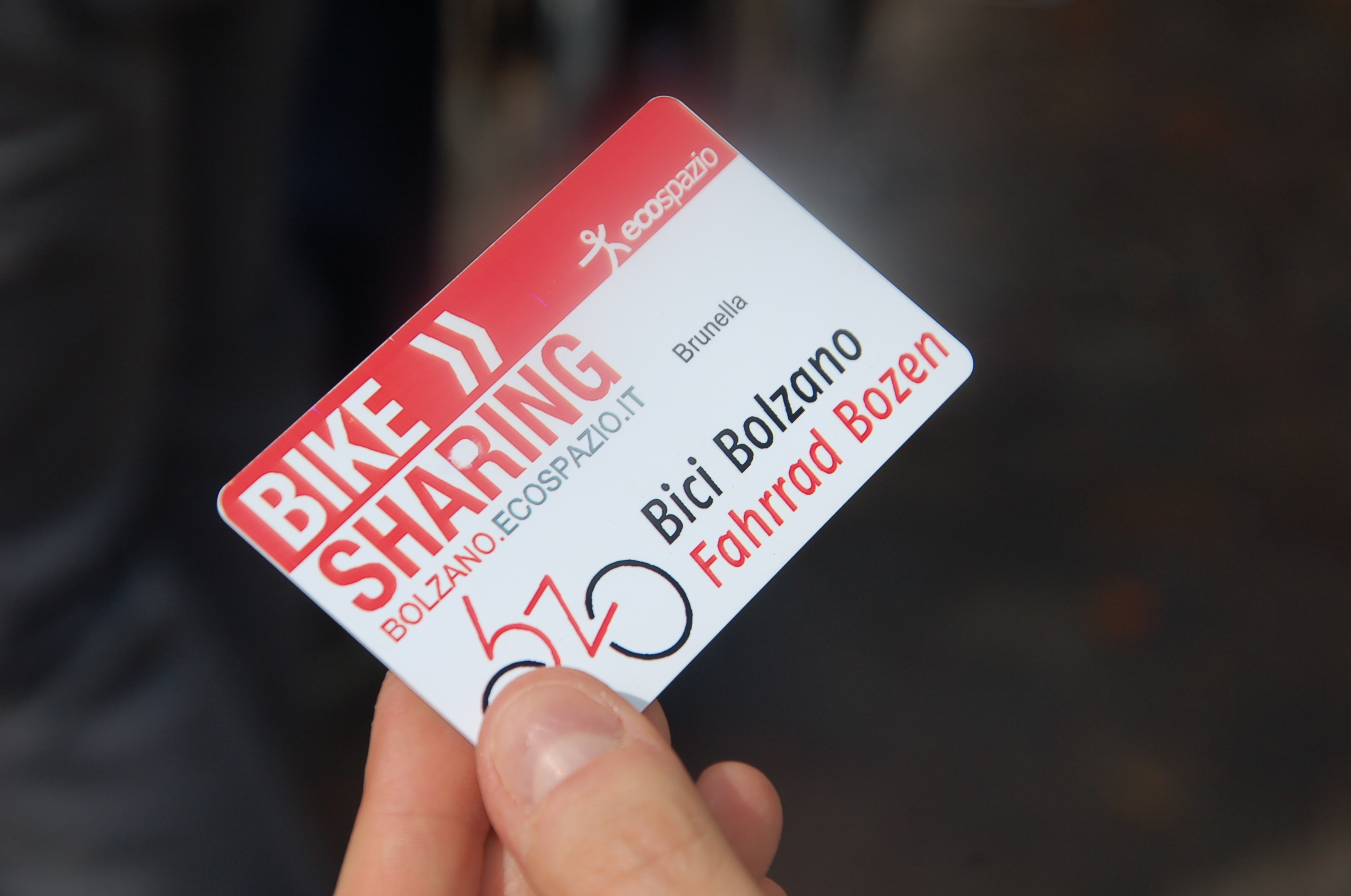 Bike-Sharing Card (Bild: jpg, 1,208 Kilobyte, 2256 x 1496 pixel)